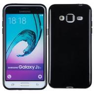 Samsung Galaxy J3 Pro - Smartphone Hoesje Tpu Siliconen Case Hoesje Zwart