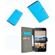 HTC Desire 830 Wallet Bookcase Hoesje Turquoise