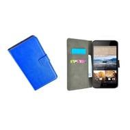 HTC Desire 830 Wallet Bookcase Hoesje Blauw