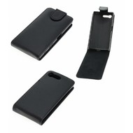 Sony Xperia X Compact - Flip Case Cover Smartphone Hoesje Lederlook Zwart