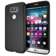 LG G5 - Smartphone Hoesje Tpu Siliconen Case Hoesje Zwart