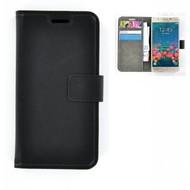 Samsung Galaxy J5 Prime - Smartphone Hoesje Wallet Bookstyle Case Lederlook Zwart
