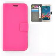 Samsung Galaxy J5 Prime - Smartphone Hoesje Wallet Bookstyle Case Lederlook Roze