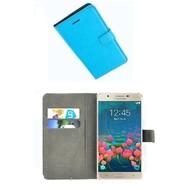 Samsung Galaxy J5 Prime - Smartphone Hoesje Wallet Bookstyle Case Lederlook Turquoise