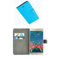 Samsung Galaxy J7 Prime - Smartphone Hoesje Wallet Bookstyle Case Turquoise