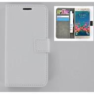 Samsung Galaxy J7 Prime - Smartphone Hoesje Wallet Bookstyle Case Wit