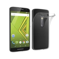 Motorola Moto X Play Transparant Tpu Siliconen Smartphone Hoesje