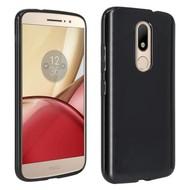 Motorola Moto M Tpu Siliconen Hoesje Zwart