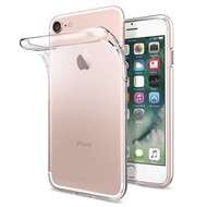 Transparant Pvc Siliconen case hoesje voor Apple iPhone 7