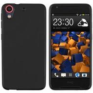 HTC Desire 628 Tpu Siliconen Case Hoesje Zwart