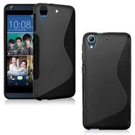 Zwart S-Style Tpu Siliconen hoesje voor de HTC Desire 630