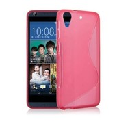 Roze S-Style Tpu Siliconen hoesje voor de HTC Desire 630