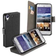 Luxe Zwart Y Wallet Book Case Hoesje voor de HTC Desire 530