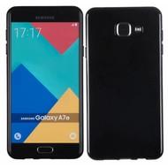 Samsung Galaxy A7 2016 - Tpu Siliconen Case Hoesje Zwart