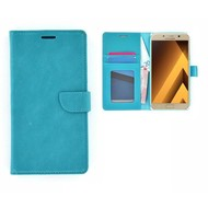 Samsung Galaxy A5 (2017) Portemonnee Hoesje Wallet Book Case Turquoise