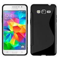 Samsung Galaxy Grand Prime Plus Hoesje Tpu Siliconen Case S-Style Zwart