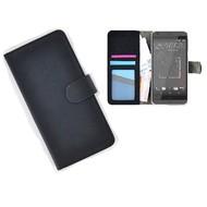 HTC Desire 630 Portemonnee Hoesje Wallet Book Case Zwart