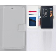 Sony Xperia X Compact Portemonnee Hoesje Wallet Book Case Wit
