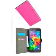 Wallet Book Case Hoesje voor Samsung Galaxy J2 Prime - Roze