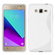 S-Style Tpu Siliconen Hoesje Samsung Galaxy J2 Prime - Transparant