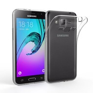Transparant Tpu Siliconen Case Samsung Galaxy J3 Hoesje