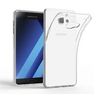 Transparant Tpu Siliconen Case Hoesje voor Samsung Galaxy C7 Pro