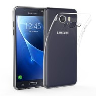 Samsung Galaxy J5 2016 TPU Siliconen Case Hoesje Transparant