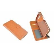 Bruin Wallet Bookcase Portemonnee Hoesje LG G6