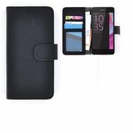 Wallet Bookcase Zwart Hoesje Sony Xperia XZs