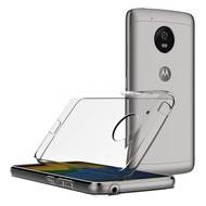 Transparant TPU Hoesje voor Motorola Moto G5 Plus