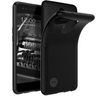 Zwart TPU Siliconen Hoesje voor LG K10 (2017)