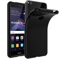 Zwart TPU Siliconen Hoesje Huawei P8 Lite (2017)