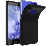 Zwart TPU Siliconen Hoesje HTC U Play