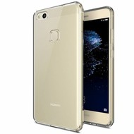 Transparant TPU Siliconen Case Hoesje voor Huawei P10 Lite