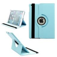 Turquoise 360° Draaibare Case Tablet Beschermhoes voor Apple iPad 9.7 (2018)