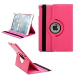 Apple iPad Mini 3 - Hoes 360° Draaibare Case Lederlook Roze