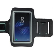 Samsung Galaxy S8 Zwart Sport Armband hoesje