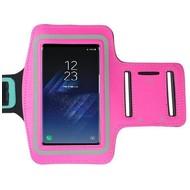 Samsung Galaxy S8 Roze Sport Armband hoesje
