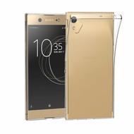 Transparant TPU Siliconen Case Hoesje voor Sony Xperia XA1 Ultra
