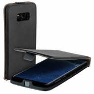 Eco Flipcase Cover Zwart Hoesje voor Samsung Galaxy S8