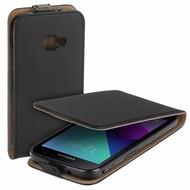 Eco Flipcase Cover Zwart Hoesje voor Samsung Galaxy Xcover 4