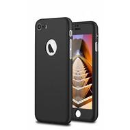 360 graden Full Body Cover Case Zwart Hoesje voor iPhone 7