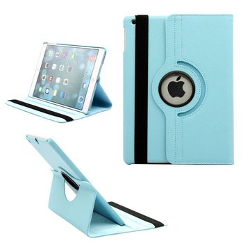 Apple iPad Pro 12.9 2017 Turquoise Beschermhoes Cover 360° Draaibare Case