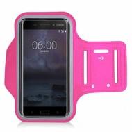 Roze Sportarmband Hardloopband voor Nokia 6