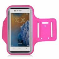 Roze Sportarmband Hardloopband voor Nokia 3