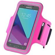 Roze Sportarmband Hardloopband Telefoonhoesje Samsung Galaxy J7 2017