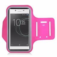 Roze Sportarmband Hoesje Hardloopband Sony Xperia L1