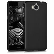 Zwart TPU Siliconen Case Hoesje voor Huawei Y5 2017