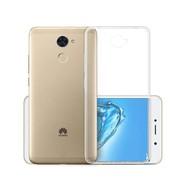 Transparant TPU Siliconen Case Hoesje voor Huawei Y7 Prime