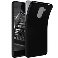 Zwart TPU Siliconen Case Hoesje voor Huawei Y7 Prime